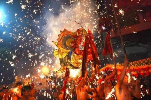 中國人的舞龍、舞獅文化