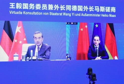 王毅倡中德維護多邊主義 德外長:與中國「脫鈎」是錯誤道路