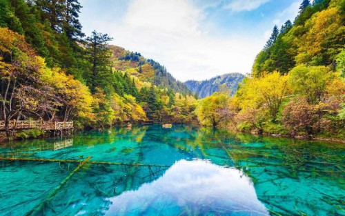 【世界自然遺產系列.貳】人講童話 九寨溝
